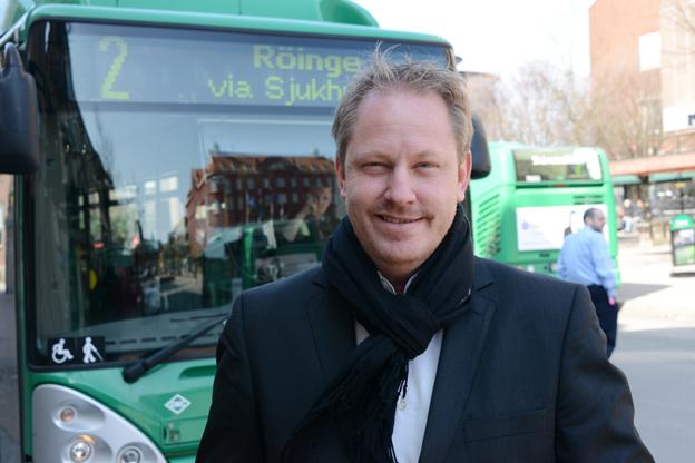 Henrik Dagnäs lämnar Skånetrafiken och blir marknadsdirektör i Nobinakoncernen. Foto: Ulo Maasing.