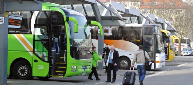 Den snabbväxande tyska expressbussmarknaden står inför utslagning och uppköp av företag. Foto: Ulo MAasing.