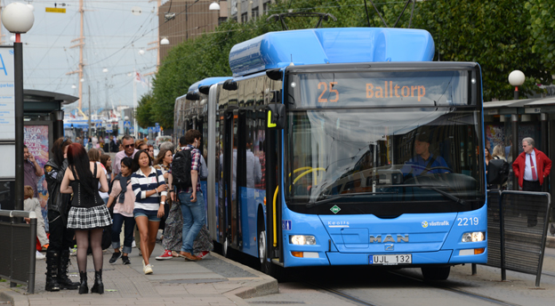 Bijettfusket ökar i Göteborg. Personerna på bilden har dock inget samband med detta. Foto: Ulo Maasing.
