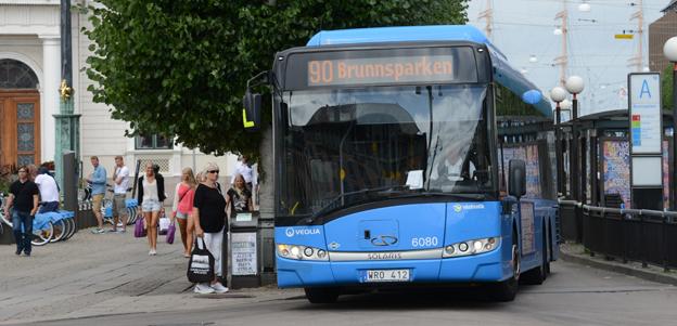Västtrafik inleder i veckan en kampanj för att locka nya resenärer till kollektivtrafiken. Foto: Ulo Maasing.