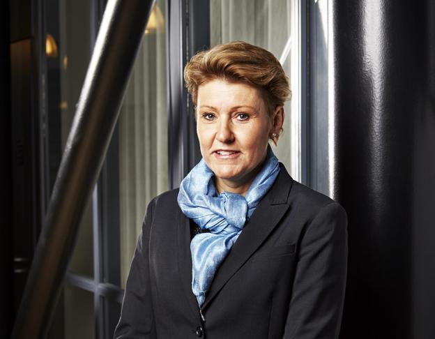 Maria Holmgren tar över som tf trafikdirektör i Skånetrafiken. Foto: Karl-Johan Hjertström.