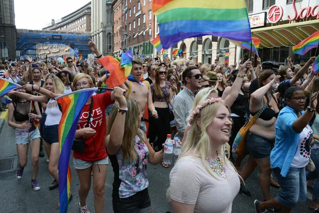 Årets upplaga av Stockholm Pride drog in 327 miljoner kronor till Stockholmsregionen. Foto: Ulo Maasing.