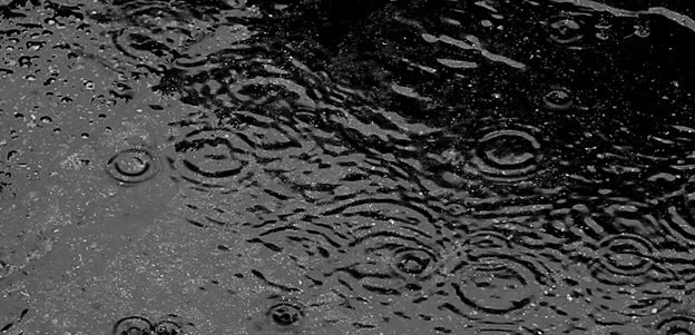 Över 100 millimeter regn förll över Malmö i helgen –resultatet för Nobina blev tio bussar på verkstad, varav två ordentligt skadade.