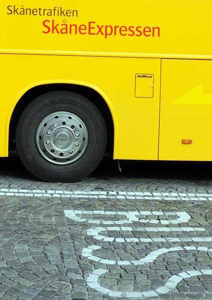 Pendlare i Skåne ska få snabbare och bekvämare bussresor med superbusssar. Foto: Ulo Maasing.