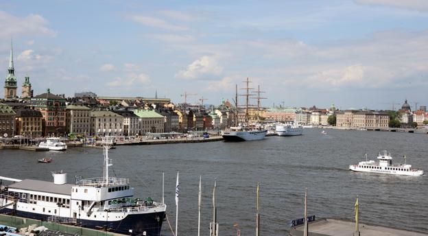 Mälardrottning som seglar i turistisk medvind. Foto: Ulo Maasing.