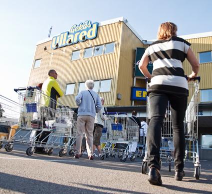För andra året i rad arrangeras en bussresedag för researrangörer i Ullared. Foto: Jesper Pettersson/Gekås.