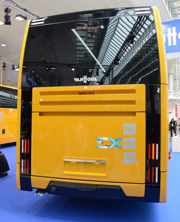 Bakpartiet på EX har ett karakteristiskt utseende. Foto: Ulo Maasing.