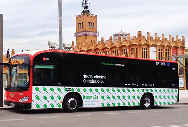 Det stora europeiska elbussprojektet ZeEUS har nu rullat igång på allvar i Barcelona med bussar från Irizar. Stockholm följer efter i höst. Foto: TMB.
