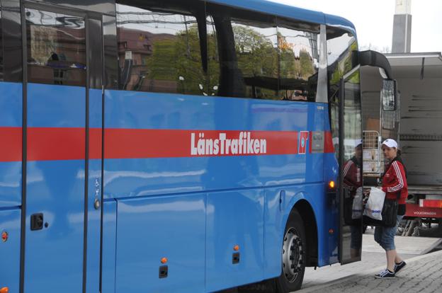 Resenärerna får räkna med krångel när Länstrafiken Örebro byter biljettsystem under allhelgonahelgen. Foto: Ulo Maasing.