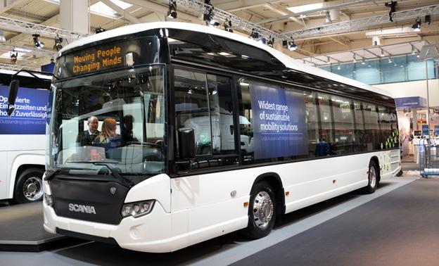 Scania CityWide LE premiärvisades nyligen på IAA-mässan i Hannover. Redan nu har Scania fått sin första norska order på modellen. Foto: Ulo Maasing.