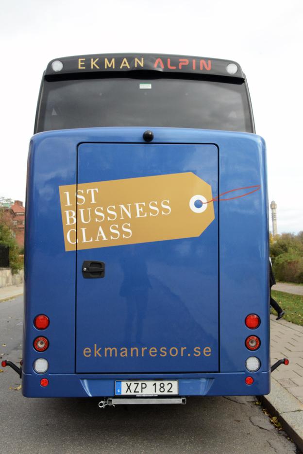 1st Bussness Class.