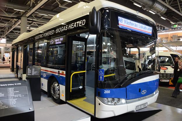 Solaris visade utan buller och bång Urbino 12 Electric på Persontrafik. Foto: Ulo Maasing.
