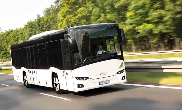 Italien börjar bli en betydande marknad för Solaris´ linjevagn InterUrbino 12. Foto: Solaris.