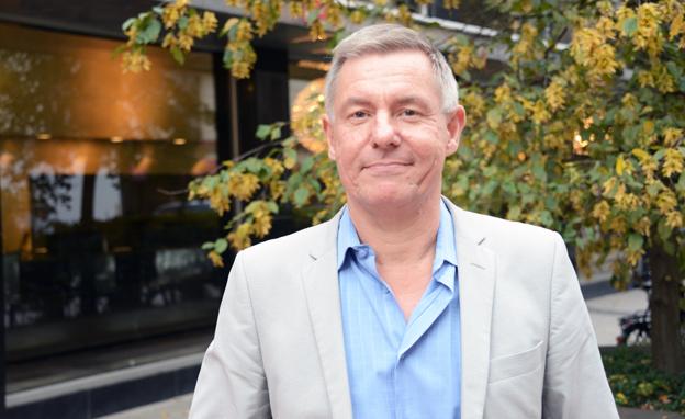 Lars Annerberg från Sveriges Bussföretag är projektledare för arbetet med de nya branschrekommendationerna i Buss 2014. Foto: Ulo Maasing.