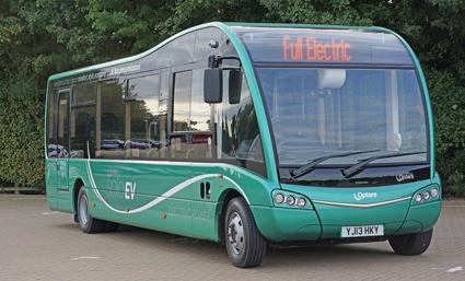Optare Solo elbuss. Inom kort får Karlstad de första i Sverige. Nu ska Optares ägare lansera bussarna på bred front även i Indien. Foto: Optare.