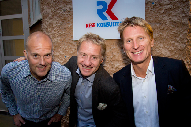 Grossistjätten Rese-Konsulterna byter ägare. Den nya ägartrion består av Per Göransson, Fredrik Helgesson och Göran Grell. Foto: Rese-Konsulterna.