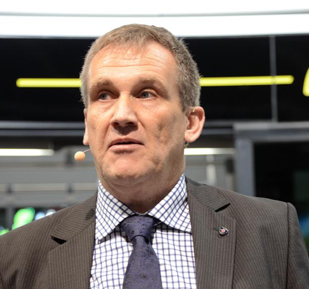 Rutger Hörndahl, försäljningsansvarig, Scania-Bilar Sverige: Bussen passar en lång rad svenska städer. Foto: Ulo Maasing.