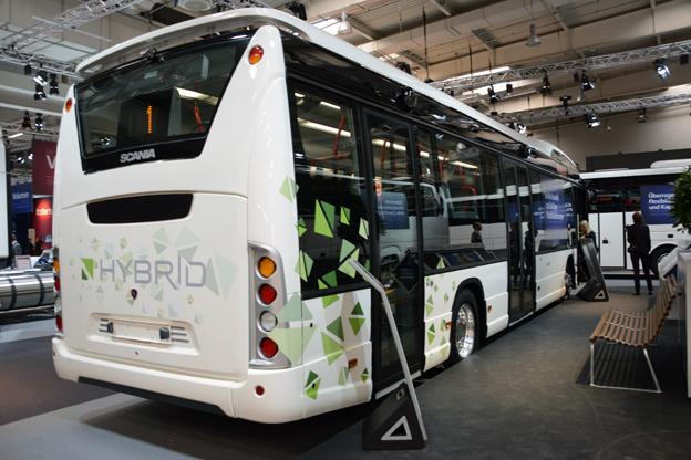 En av nyheterna från Scania under det tredje kvartalet var lanseringen av CityWide LE Hybrid. Foto: Ulo Maasing.