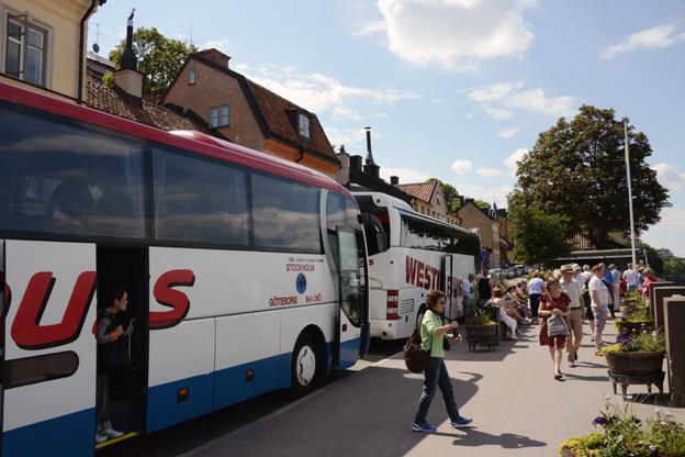 Sommaren 2014 blev en rekordsommar för turismen i Sverige. Foto: Ulo Maasing.