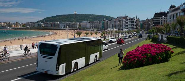 Nyregistreringarna av bussar i Spanien ökade kraftigt under september, men övriga stora marknader hade en nergång. Foto: Irizar.