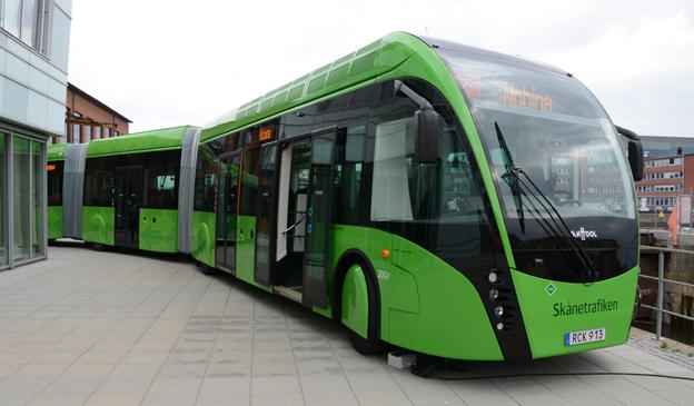Superbuss à la Malmö. 2017 kan Borås få sin första suoerbusslinje. Foto: Ulo Maasing.
