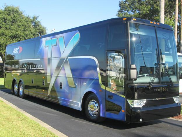 I fjol lanserade Van Hool bland annat sin TX-serie för den nordamerikanska marknaden. Foto: Van Hool.