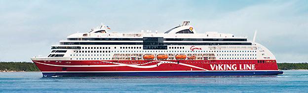 Viking Grace, internationellt miljöprisad. Bild: Viking Line.