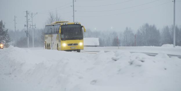Norge skärper kraven på vinterdäck för tunga fordon. Foto: Ulo Maasing.