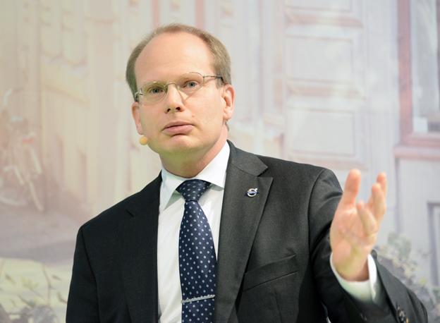 Volvo Bussars vd Håkan Agnevall: Vår vision är att vara världsledande när det gäller utsläppsfria bussar. Foto: Ulo Maasing.