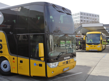 Expressbussjätten ADAC Postbus förlorar sin ena delägare ADAC som hoppar av med hänvisning till affärsrisken. Foto: Ulo Maasing.