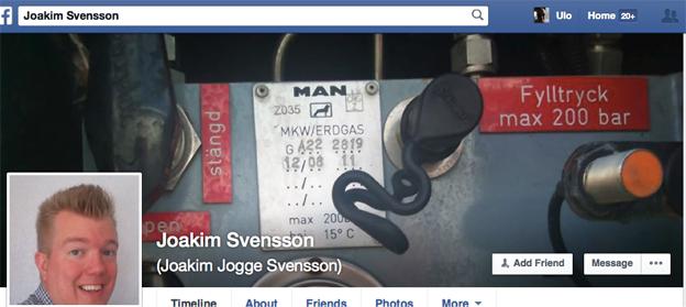 Bussföraren Joakim Jogge Svensson gör succé på Facebook med Reflexkomplex.