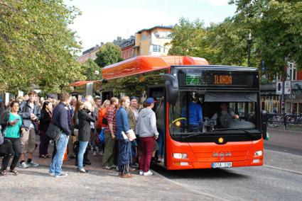 Karlstadsbuss har länge varit ett föredöme i svensk kollektivtrafik. Foto: Karlstadsbuss.