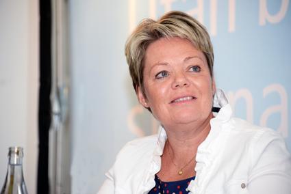 Lotta Finstorp(M): Inför en kundvalsmodell för stödet till kollektivtrafiken. Foto: Ulo Maasing.