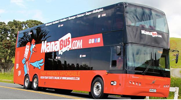 Stagecoach grundare och styrelseordförande Brian Souter fortsätter att bygga upp ett globalt expressbussimperium. Snart startar ManaBus.com på Nya Zeeland. Bild: ManaBus.com.
