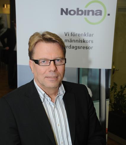 Jan Bosæus, vd för Nobina Sverige AB. Foto: Ulo Maasing.