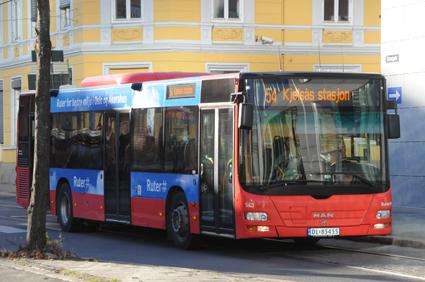 Ruter i Oslo har en hård linje när det gäller mobilpratande bussförare. Arkivbild: Ulo MAasing.