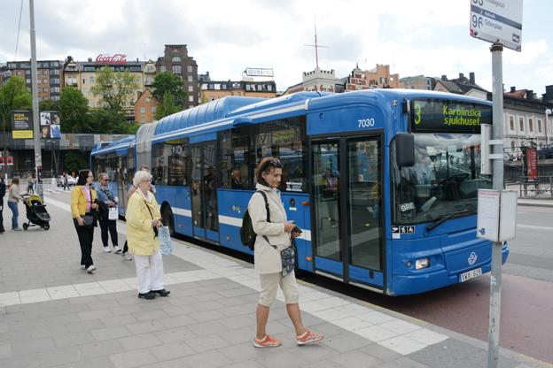 Alliansen bantar bort 1000 bussturer om dagen i Storstockholm. Foto: Ulo Maasing.