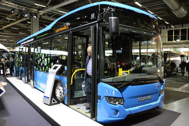 …liksom stqdsbussen Citywide LE Hybrid. Foto: Ulo Maasing.