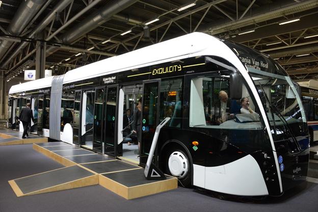 Scania premiärvisade sin Scania Van Hool Exqui.City…