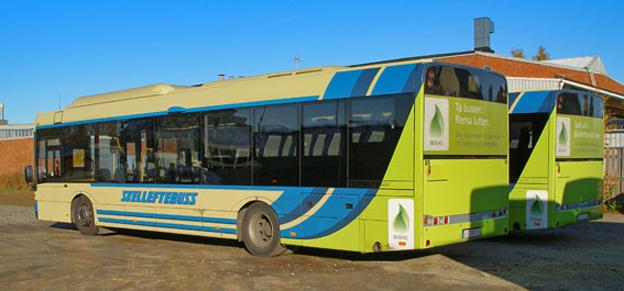 Skelleftebuss vill få företag att medfinansiera de anställdas bussbiljetter. Foto: Jlundqvi/Wikimedia Commons.