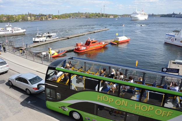 Turismen i Stockholm ökar kraftigt. Foto: Ulo Maasing.