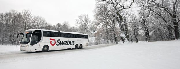 Fler bokar julresa med buss. Foto: Swebus.
