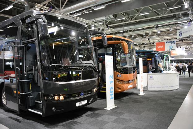 Temsa, som hittills haft stora framgångar i Sverige med midibussen MD9 satsar på att bredda sig på den svenska marknaden. Foto: Ulo MAasing.