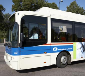 Vestmanlands Lokaltrafik får betala miljoner för ännu inte sjösatt biljettsystem. Foto: Lars Fredriksson.
