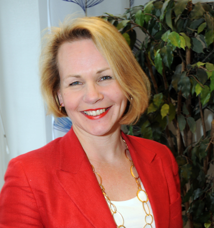 Anna Grönlund, vice vd Sveriges Bussföretag: Vi vill ha besked från regeringen. Foto: Ulo Maasing.