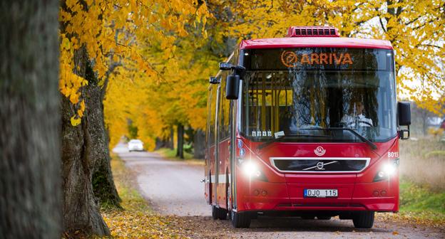 Arriva får hård kritik för de nerdragningar man gjort av busstrafiken i norra Storstockholm. Foto: Arriva.