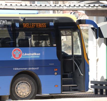 Länstrafiken i Västerbotten och Länstrafiken i Västernorrland slipper betala upphandlingsskadeavgift för direktupphandlingen av biljettsystem. Foto: Ulo MAasing.