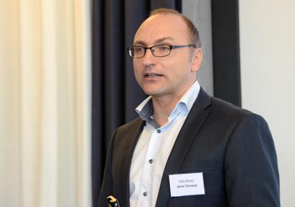 Janos Turcsany, bullerexpert: Trafikbullret i städerna är ett jätteproblem. Foto: Ulo Maasing.