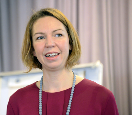 Jessica Sandström, Volvo Bussar: Vår vision är att bli världsledande i hållbara persontransporter. Foto: Ulo Maasing.