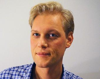 John Hultén, ny föreståndare för K2.